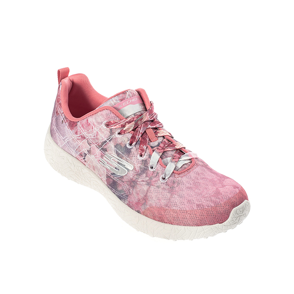 SKECHERS Burst Midnight Garden ไซส์ US6 สีชมพู