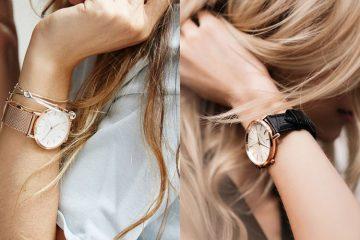 แฟชั่นผู้หญิง นาฬิกาสีโรสโกลด์