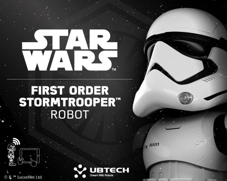 UBTECH หุ่นยนต์ First Order Stormtrooper Robot