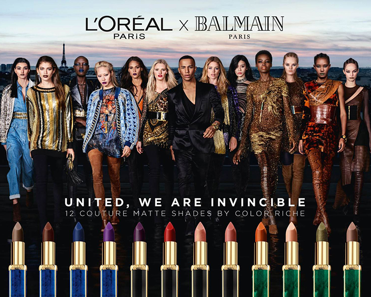 L'Oreal Paris Color Riche x Balmain Paris